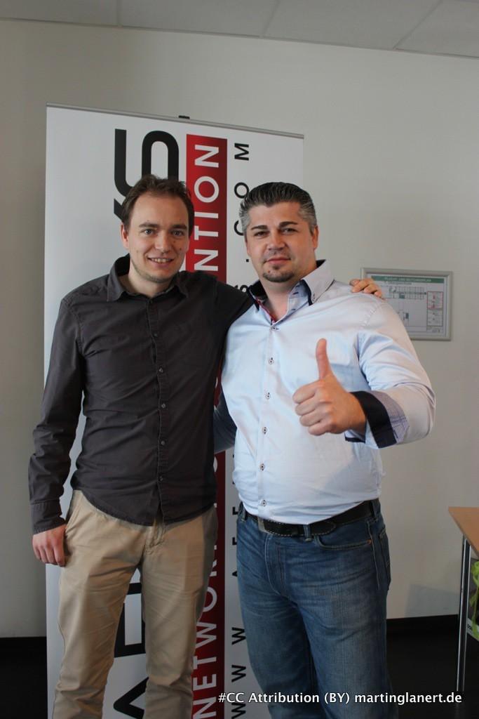 Thomas Klussmann und Dejan Novakovic