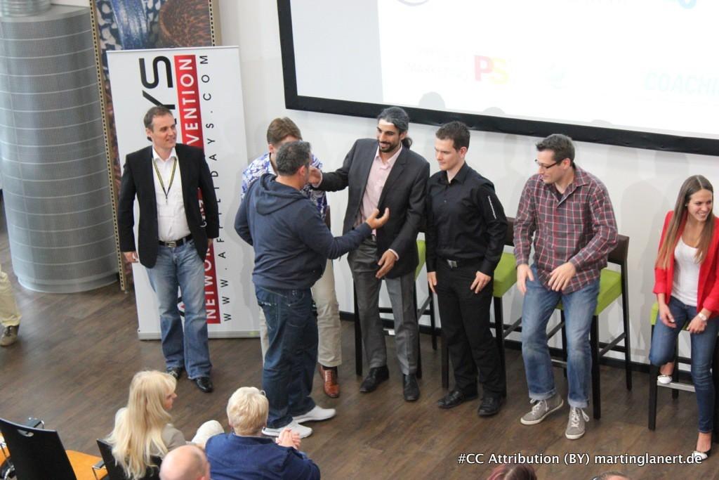 Der Abschied von Ralf Schmitz mit den Speakers des Affilidays
