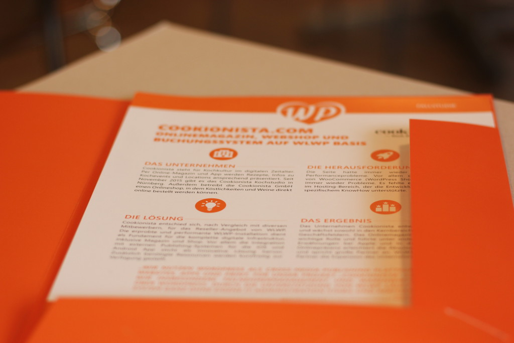 Die WLWP Infomappe mit den neuen Case-Studies.