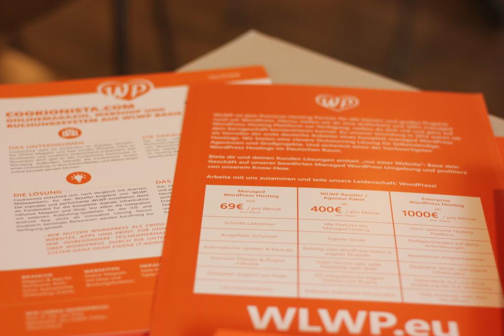 WLWP Case-Study & Info-Flyer mit den Paketen.