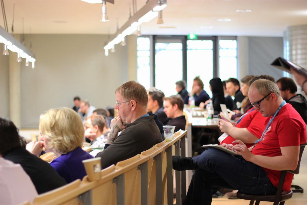 Keynote-Session beim WordCamp Nürnberg