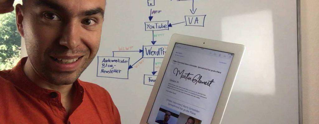 YouTube Videos automatisiert als WordPress Blogpost und Newsletter veröffentlichen