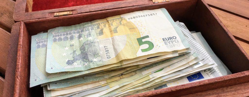 Lass die Geldquelle sprudeln